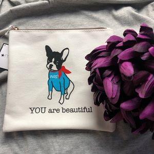 Macy's You Are Beautiful Makeup bag